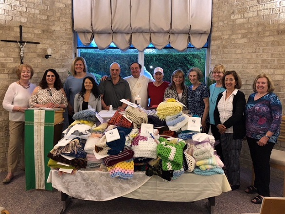 prayer shawl binding ceremony