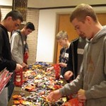 halloween candy sorting